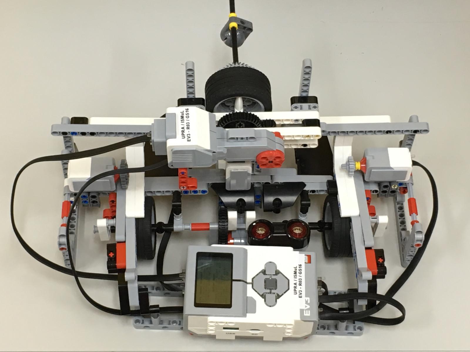 LEGO EV3 Image Scanner - Javier O. Cordero Pérez